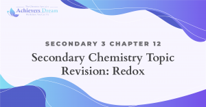 Secondary 3 Chapter 12